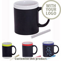 Colourful Chalk Mug 143772 - Customise with your brand, logo or promo text
