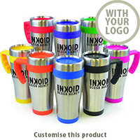 Oregon Travel Mug In A Vareity of Colours 149694 - Customise with your brand, logo or promo text