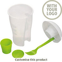 """Salad Cup To Go """"erba"""" 170106 - Customise with your brand, logo or promo text"""