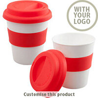 Travel Mug with Silicone 197240 - Customise with your brand, logo or promo text