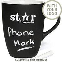 AntiBug Marrow Chalk Mug 2001105085 - Customise with your brand, logo or promo text