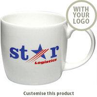 Boston Bone China Mug 2001105241 - Customise with your brand, logo or promo text