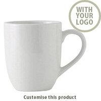 Life Bone China Mug 2001105244 - Customise with your brand, logo or promo text