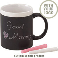 Ceramic mug Hot message 201327 - Customise with your brand, logo or promo text