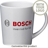 Metro Earthenware Coffee Mug 002102915 - Customise with your brand, logo or promo text
