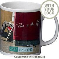 Cambridge Earthenware Coffee Mug 002102923 - Customise with your brand, logo or promo text