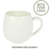 Hug Mug White Bone China 701102532 - Customise with your brand, logo or promo text