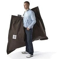Brown Strapping Bean Bag Large For Indoor and Outdoor Use