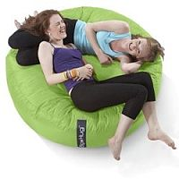 Round Green Bean Bag Large For Indoor or Outdoor Use