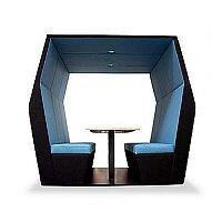 Meeting Pod BILL 6 Seater Blue