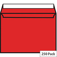 Blake C5 Red Coloured Wallet Envelopes (Pack 250)
