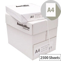 HuntOffice Printer Paper A4 75gsm White Box of 2500 Sheets