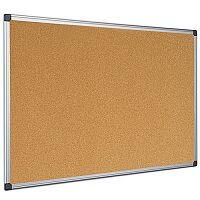 Bi-Office Cork Board 1200 x 900mm Aluminium Frame CA051170