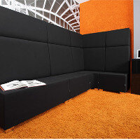 LINER Modular Soft Seating Range