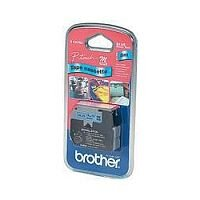 Brother P-Touch Tape 9mm Black/Blue MK521BZ