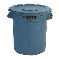 Brute Dustbin Heavy Duty Container 37.9 Litre Grey 382199
