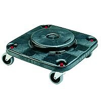 Brute Heavy Duty Container Square Dolly Black Ref 382209