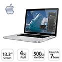 "Apple MacBook Pro Notebook 13.3"" Core i5 2.5GHz 4GB 500GB HD MD101B/A OS X 10.10"