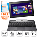 "ASUS Transformer Book T100TA 10.1"" HD Touch 2GB RAM 64GB SSD Windows 8.1"