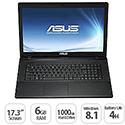 """ASUS X751LA Notebook 17.3"""" HD+ 6GB RAM 1TB HDD DVD DL Windows 8.1 64Bit"""