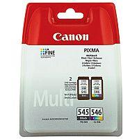 Canon PG-545/CL-546 Black/Colour Inkjet Cartridges Twin Pack 8287B005