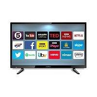 Cello Black Full HD 32'' Smart LED TV With USB C32ANSMT