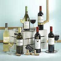 Classic Christmas Wine Gift