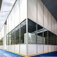 Hoyez H5 Demountable industrial partition CERFF + TRAVERSE LOAD CERTIFICATION