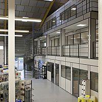 Hoyez UNIVERSE Glass partition H7 Relocatable industrial partition CERFF + TRAVERSE LOAD CERTIFICATION