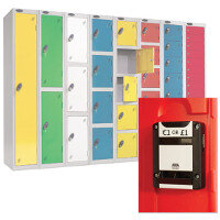 Lockers With Coin Return Lock