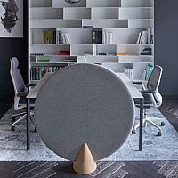 Cone Round Free Standing Acoustic Screen 1200mm