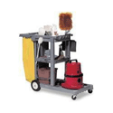 Contico Struct-O-Cart Mobile Cleaning Trolley Grey 184GY