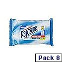 Parozone Toilet Cleaning Wipes Flushable Pack of 8 KJEYSJY02058