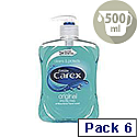 Carex Anti-Bacterial Handwash 500ml KJEYS5002 6 Pack