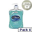 Carex Anti-Bacterial Handwash 500ml KJEYS5002 6 Pack