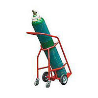 Cylinder Carrier Castor 280mm With Rubber Wheels