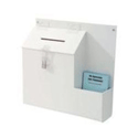 Deflecto Ballot/Suggestion Box White