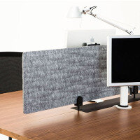 DNA 3D Formed Felt Desk Screens & Modesty Panels