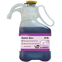 Diversey Suma Bac Detergent Surface Sanitizer D10 1.4 Litre 7517201 [Pack 2]