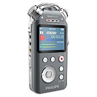 Philips DVT6010 Tracer Digital Voice Recorder 8GB