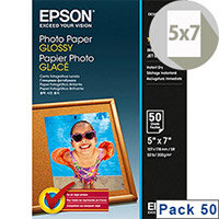 """Epson 5x7"""" Photo Paper Glossy 200gsm (Pack of 50)"""