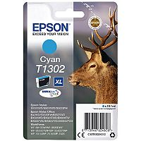 Epson Stag T1302 XL Cyan Ink Cartridge C13T13024012