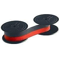 Facit 1024FN/C340/C365 Fabric Ribbon Black/Red 7024
