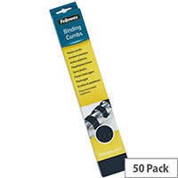 Fellowes Binding Comb 51mm Black A4 Pack of 50