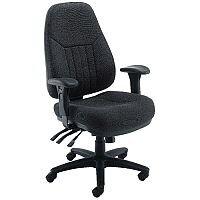Avior Luciana High Back Heavy Duty 24 Hour Task Operator Office Chair Black