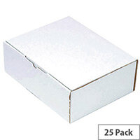 Flexocare Oyster Mailing Boxes 375x225x150mm Pack of 25