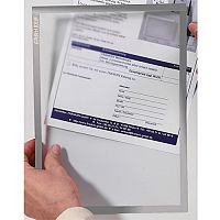 Franken Document Holder Magnetic Din A4 5-pieces Grey ITSA4M/5 12