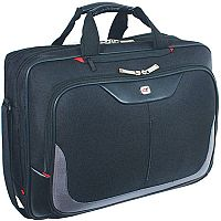 Gino Ferrari Enza Business Bag with Laptop Compartment Nylon Capacity 16inch Black Ref GF555