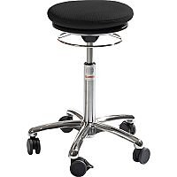 Pilates Air-Seat Ergonomic Stool With Easy Clean Black 3D Runner Seat Upholstery H450 - 640mm