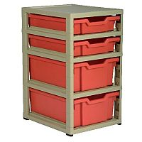 Gratstack 2 Shallow & 2 Deep Tray Unit #ST